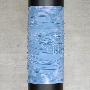 Multifunktionsschal Batik FLORAL Jeansblau