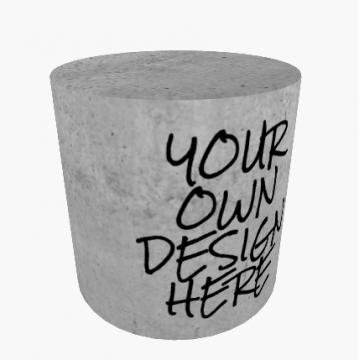 """Sitzzylinder """"DESIGN your OWN"""""""