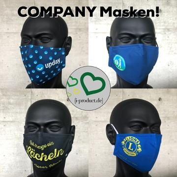 """kostenloses Muster """"Firmenmaske"""""""