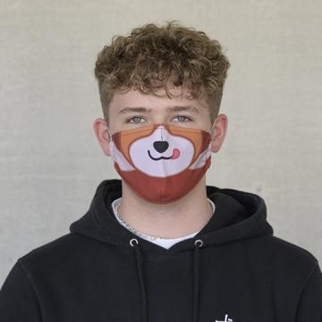 """TIVOLA Maske """"Roter Panda 2"""""""