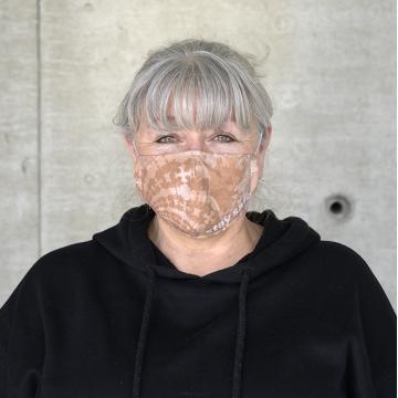 Maske FLORAL NUDE