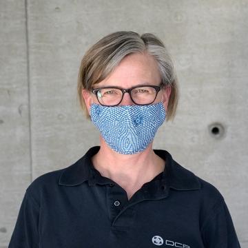 Maske Blue NET