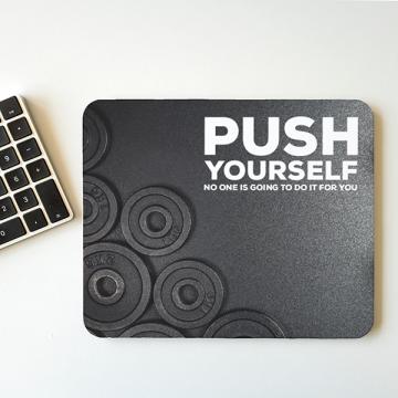 "MousePAD ""PUSH Yourself"""