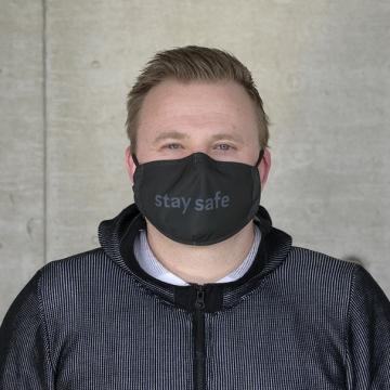 """Gesichtsmaske """"StaySafe"""" in vielen Farben"""