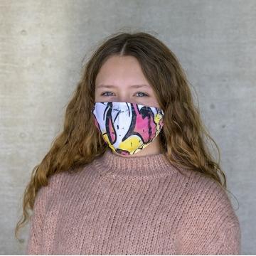 Maske GRAFFITI