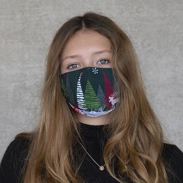 "Gesichtsmaske ""X-mas landscape"""